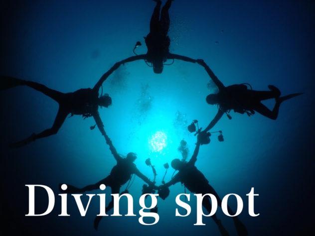 石垣島ダイビングショップ海のメロディーでもぐれるダイビングポイント